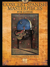Concert Spanish Masterpieces For Classical Guitar Learn to Play Music Book & CD