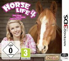 Horse Life 4 - Mein Pferd, mein Freund, mein Champion (Nintendo 3DS, 2015)
