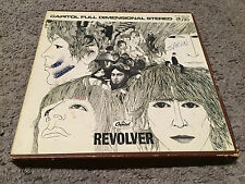 The Beatles: Revolver 4 Track 3 3/4 Reel To Reel Tape Y1T 2576