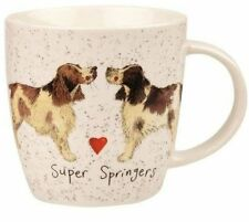 Alex Clark Fine China Squash Mug - Dog - Super Springers - Full Range in Stock
