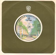"""GLYDER - IT DOESN'T MATTER ANYMORE + LOVE ME TONIGHT 7"""" SINGLE 1975 EX CONDITION"""