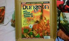 Dungeon Magazine 95 Sex, Drugs, and Demon Lords, tokens, Book of Vile Darkness