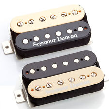 Seymour Duncan SH-4b & SH-2n Hot Rodded Humbucker Pickup Set, Zebra, 11108-13-Z