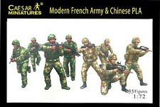 Modern French Army & Chinese PLA - Caesar Miniatures HB59- 1/72 Scale