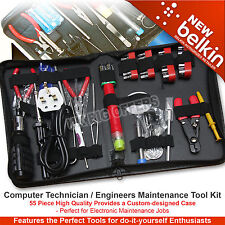 Belkin Computer Technician / Engineers Maintenance Tool Kit - 55 Piece F8E062U