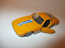 Maserati Ghia Ghibli in orange, Politoys Export in 1:43!