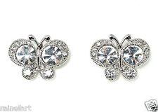 Butterfly W Swarovski Crystal Jewelry Gift New Earrings