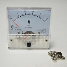 New Analog Volt Voltage Panel Meter Voltmeter 0~5V DC 85C1 Top Quality