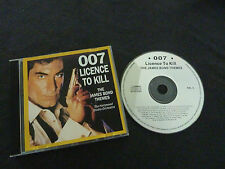 007 LICENCE TO KILL THE JAMES BOND THEMES ULTRA RARE CD!