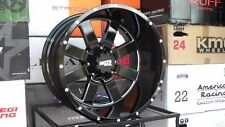 Moto Metal 962 20x12 Gloss Black Wheels Mounted on 33 12.50 20 Federal Couragia