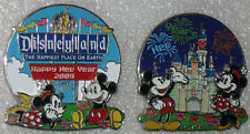 Disneyland New Year Eve 2008 + Happy New Year 2009 DLR Cast Member Exclusive