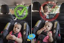 Baby Car Mirror - Perfect View of Your Infant in the Rear Facing Car Seat - Safe