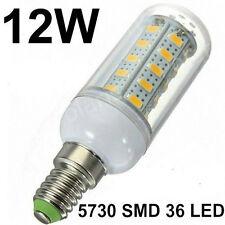 Lampadina 12W  36 Led 5730 SMD E14 luce bianco freddo Lampada bulbo