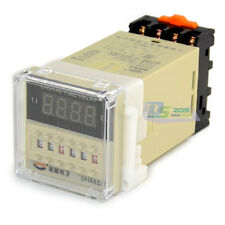 24~240V AC Programmable Digital Dual Control Time Delay Relay DH48S-S AC/DC 5A