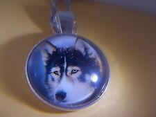 Beautiful! Alaskan Husky Pendant & Necklace