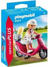 9084 Chica con Vespa playmobil,especial,special, moto