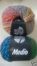 Lana Grossa Medio, NEU verschiedene Farben zur Auswahl