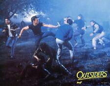 PATRICK SWAIZE THE OUTSIDERS 1983 VINTAGE LOBBY CARD #1 COPPOLA S.E. HINTON