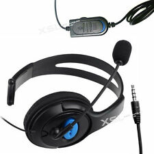 Single Ear-Cup Headset Headphones + Mic for PS4, PCs, Mobiles, Tablets, iPads