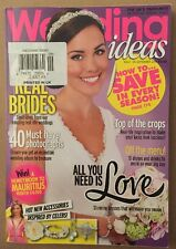 Wedding Ideas Real Brides Photographs Celeb Accessories Sep 2014 FREE SHIPPING!