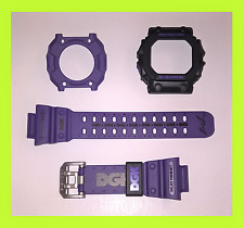 CASIO G-SHOCK GX 56DGK GX56 DGK PURPLE STRAP BAND & BEZEL SHELL CASE COVER RARE
