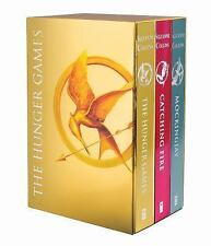 THE HUNGER GAMES Trilogy DELUXE BOXED SET FOIL EDITION Suzanne Collins Box Books