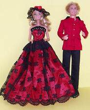 BARBIE SINDY KEN, OUTFITS, PARTY CLOTHES FOR DOLLS - GORGEOUS