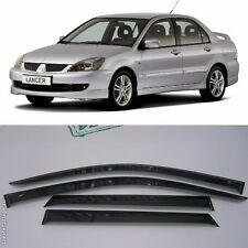 For Mitsubishi Lancer Sd 2003-2006 Window Visors Sun Rain Guard Vent Deflectors