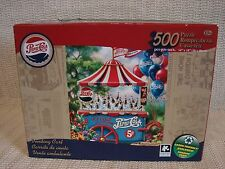 PEPSI COLA 500 PIECE JIGSAW PUZZLE-VENDING CART-WORKED ONCE