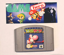 YOSHI'S STORY NINTENDO 64 N64 PAL TESTED WORKING YOSHIS VERY RARE!