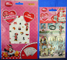 "**700 Sticker ""I love Minnie""1 Bogen ""I love Minnie Scene-Sticker""**Panini**neu"
