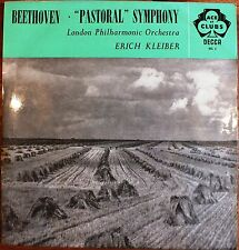LONDON PHILHARMONIC ORCHESTRA. ERICH KLEIBER. BEETHOVEN PASTORAL SYMPHONY No6