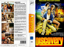 """VHS - """" DISCOVERY - Tödliches Gold """" (1966) Jean Seberg - Serge Gainsbourg"""