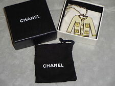 CHANEL PEARL JACKET HANDBAG KEY CHARM BRAND NEW IN BOX