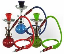 New Best Glass Water Pipe Vase Tobacco Shisha Nargile Smoking Hookah Bong Set