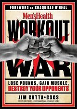 Men's Health Workout War: Lose Pounds, Gain Muscle, Destroy Your Oppon-ExLibrary