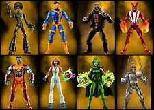 Set of 7 (8 with BAF) X-Men Marvel Legends 6-Inch Wave 2 Pre-order Build Warlock