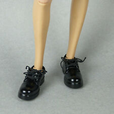 1/6 Scale Kumik, ZC Girls, TTL & ZY Toys - Female Glossy Black Loafer Shoes