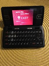 LG ENV2 VX9100 Black Bluetooth Speakerphone NAV Dual Screen Verizon Cell Phone