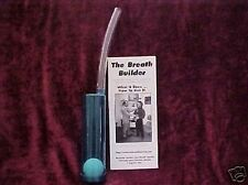 Breath Builder Lung Power  # 1 Self teaching breathing device in the world.