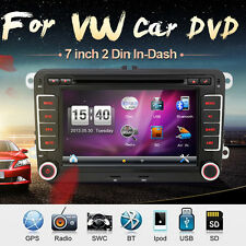 "7"" Autoradio GPS Navigation Sat Nav DVD Player Für VW PASSAT GOLF 5 6 POLO Caddy"