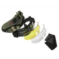 USMC X800 CS Airsoft Tácticas Gafas Gafas Máscara de protección para los ojos con lentes 3