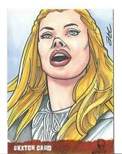 The Wicker Man Sketch Card created by ATC Adam Cleveland [ 1 ]