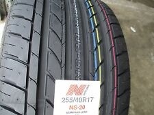 2 New 255/40R17 Inch Nankang NS-20 Tires 255 40 17 R17 2554017 40R