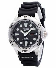 Seiko Solar Scuba Diver Sports SNE107 SNE107P2 SNE107P Mens Watch