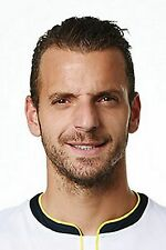 Football Photo ROBERTO SOLDADO Tottenham Hotspur 2014-15