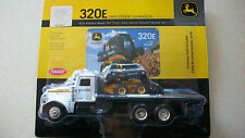Ertl 1/64 farm toy John Deere Peterbilt truck skid steer