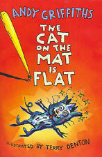 The Cat on the Mat is Flat by Andy Griffiths (Paperback) Like New With Stickers