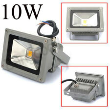 Lámpara 10W 900-1100LM LED Reflector Foco Proyector Exterior Cálido Blanco