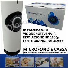 MINI VIDEOCAMERA SORVEGLIANZA WIFI IPCAMERA CAM WIRELESS HD VIDEO + AUDIO